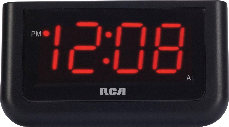 "RCA Digital Alarm Clock with Large 1.4"" Display"