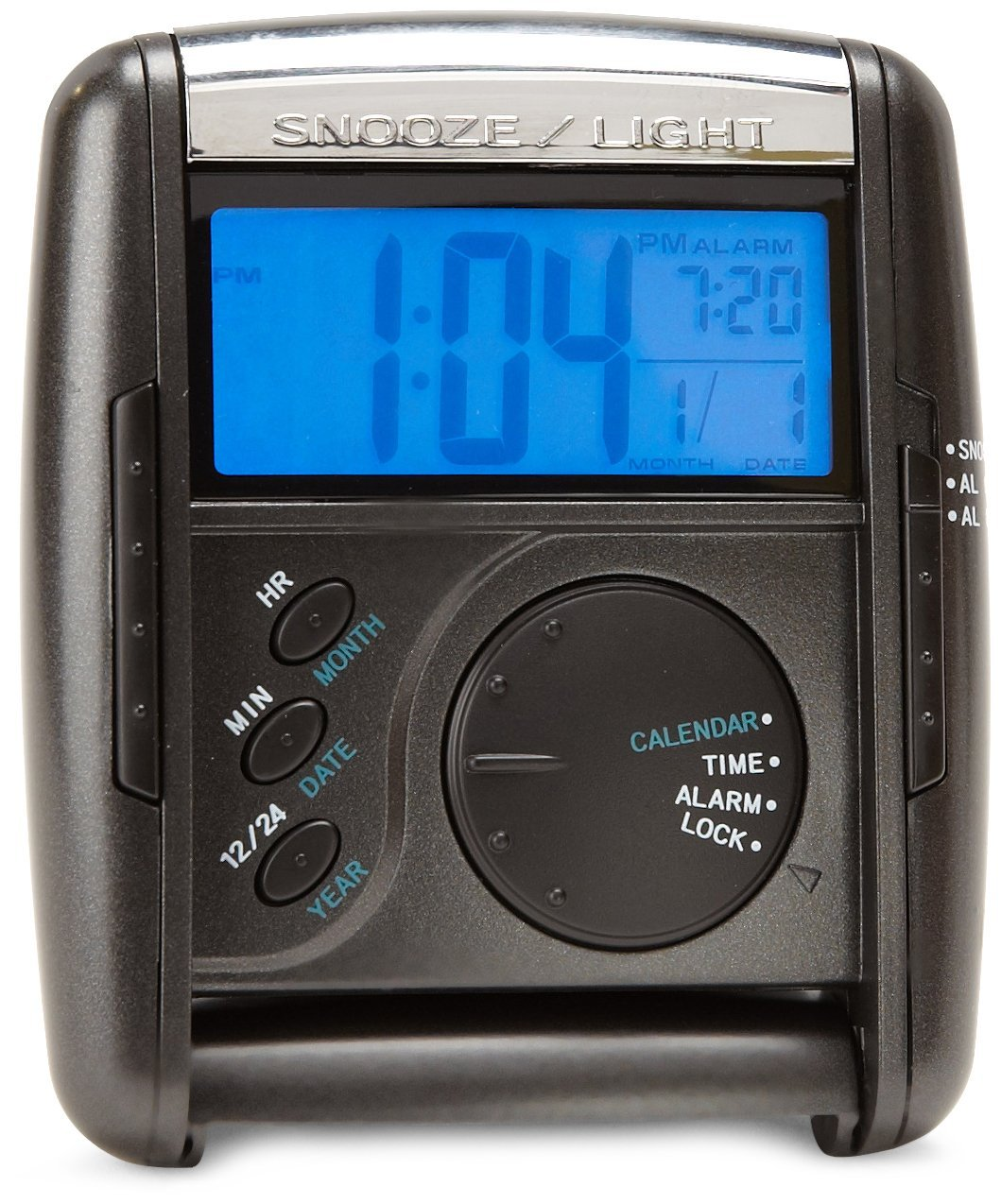 Seiko Get Up and Glow Travel Alarm Clock #QHL004KLH