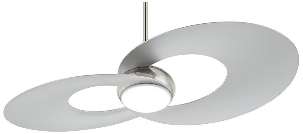 "52"" Innovation Brushed Nickel LED Ceiling Fan"