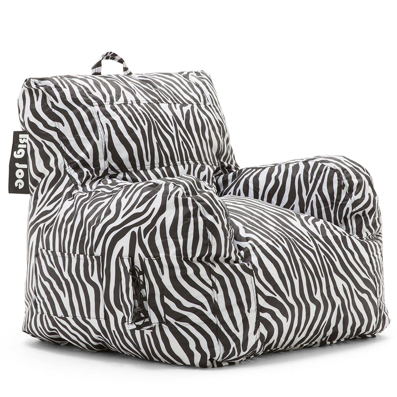 Big Joe Dorm Chair, Zebra