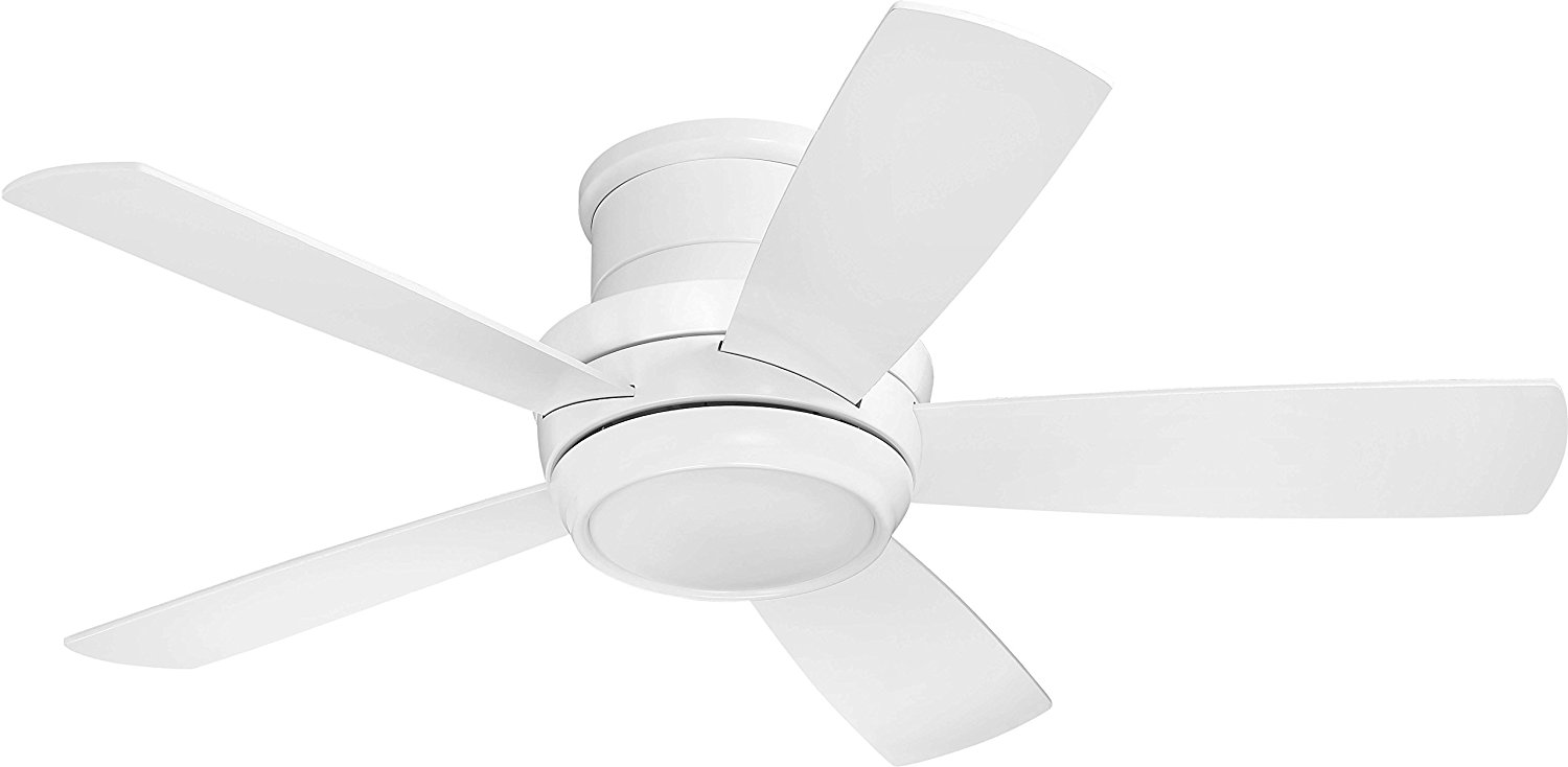 Craftmade 44`` Ceiling Fan w/Blades and Light Kit TMPH44W5 Blades