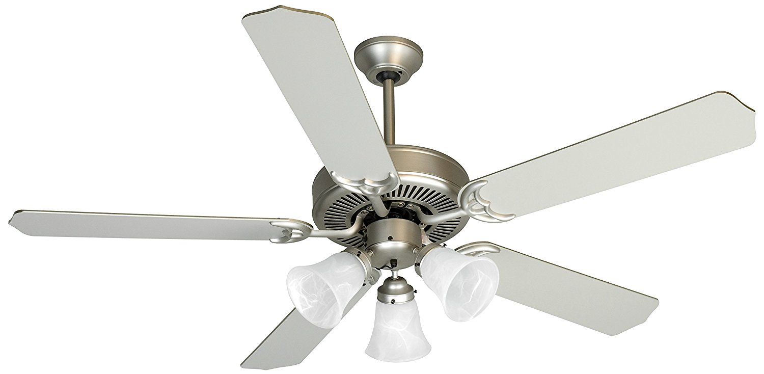 """Craftmade K10422 Ceiling Fan Motor with Blades Included, 52"""""""