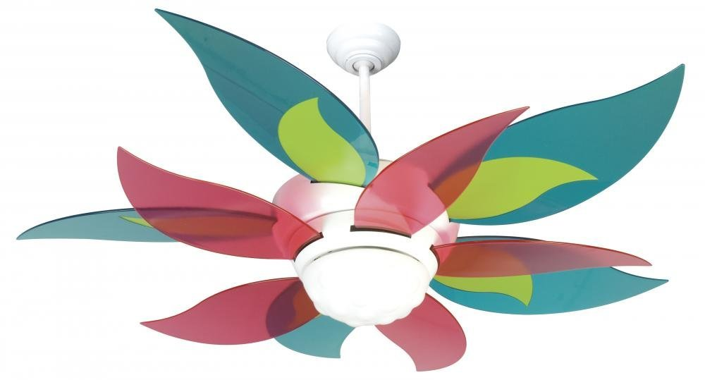 """Craftmade K10613 Ceiling Fan Motor with Blades Included, 52"""""""