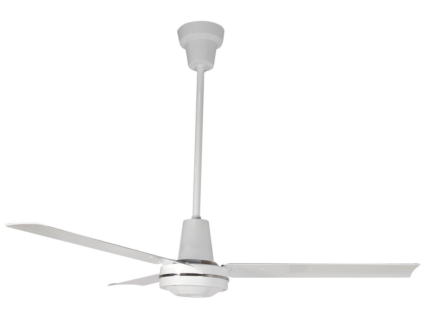 Leading Edge 48201 Heavy Duty Ceiling Fan, 21000 CFM, White