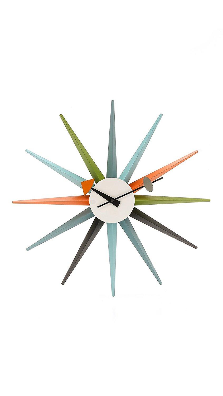Vitra Men's George Nelson Sunburst Clock