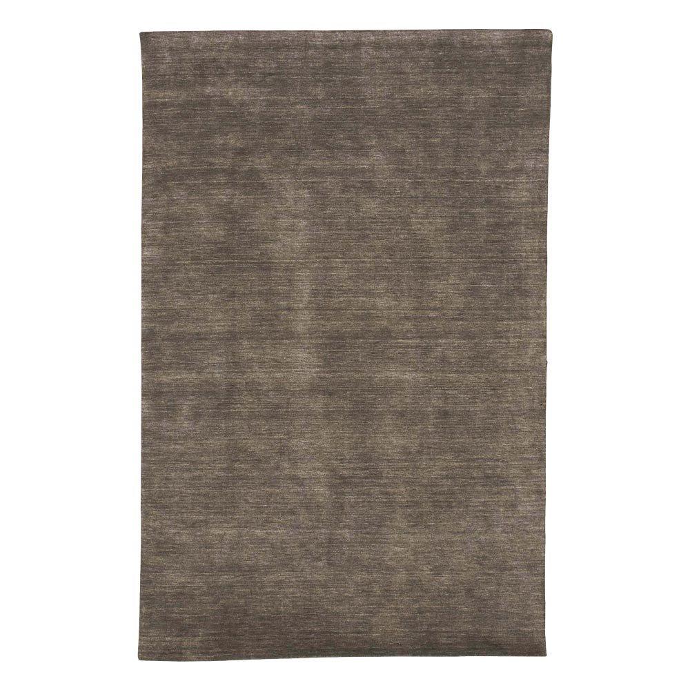 "Ethan Allen Loomed Wool Rug, Charcoal, 5'6"" x 8'6"""