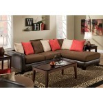 Chelsea Home Logan Upholstered 2 Piece Sectional Sofa