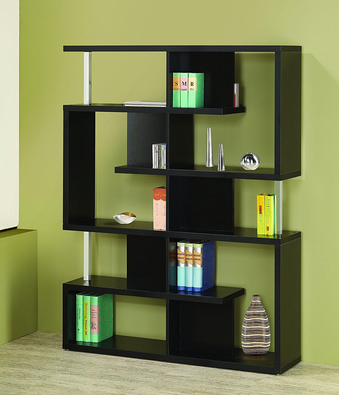 Coaster Bookshelf, Black