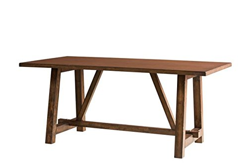 "Intercon LN-TA-4072-WAL-C Lindsay 40"" x 72"" Rectangular Dining Table, Walnut Finish"