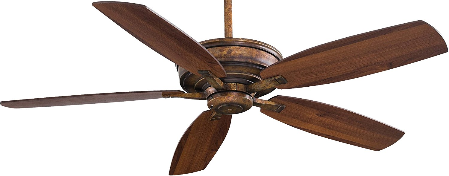 """Minka-Aire F696-VP, Kafe-XL, 60"""" Ceiling Fan with Remote Control, Vineyard Patina"""