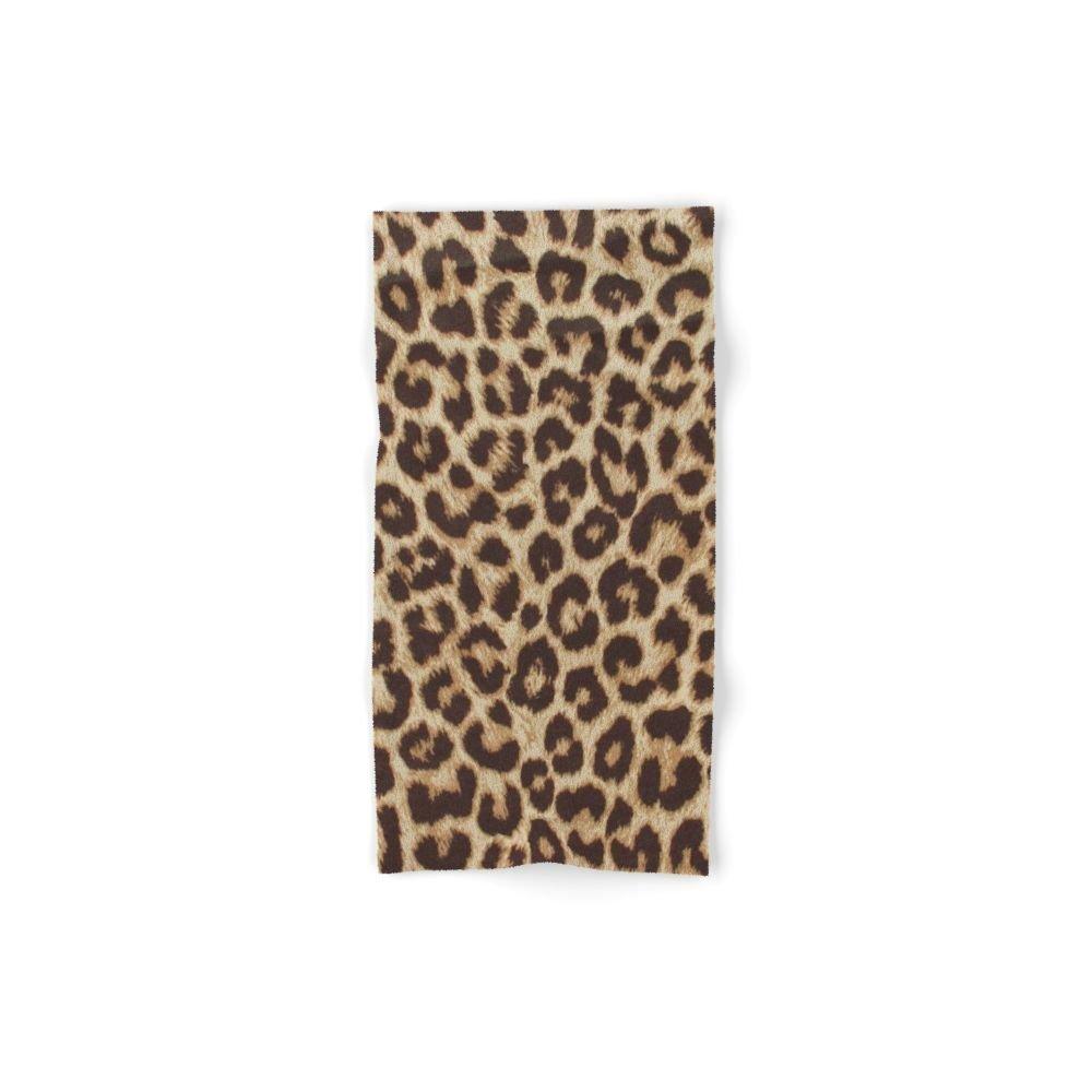 Society6 Leopard Print Set of 4 (2 hand towels, 2 bath towels)