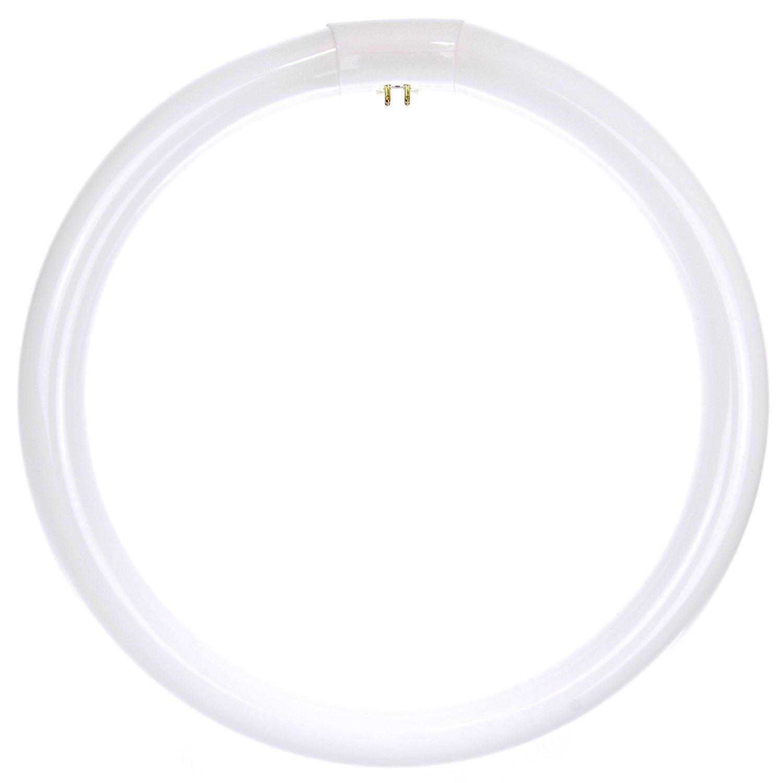 Sunlite FC12T9/DL Fluorescent 32W T9 Circline Ceiling Lights, 6500K Daylight Like Light, 4-Pin Base