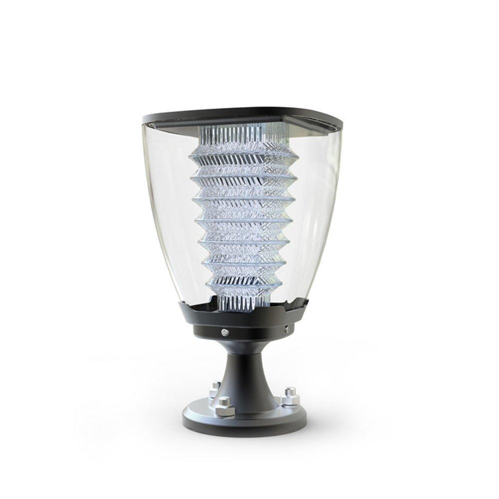 Sunmax Lighting Solar Pillar Garden Light 100 Lumens
